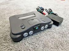 Nintendo 64 / N64 Konsole - Schwarz