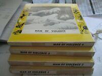 film super8.MAN OF VIOLENCE.4 BOBINES.