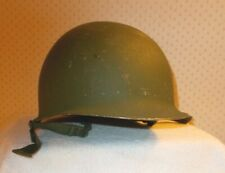 Vintage U.S.Army M-1 #608 Helmet w/Replacement Liner 1985 U.S. Gov'T Issue