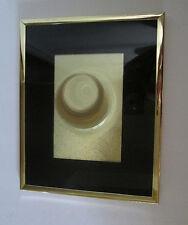 "Manifestations Optical Illusion Art, Black Mat, Gold Frame, 10"" x 8"""
