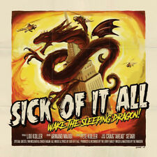 "Sick of It All Wake The Sleeping Dragon Vinyl 12"" Album With CD 2 Discs"