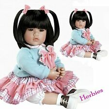 "Adora Dolls Smart Cookie Charisma Dolls,20"" Doll. Vinyl and Cloth Baby"