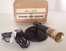 oki 555 dynamic microphone made in japan in original packing new old stock