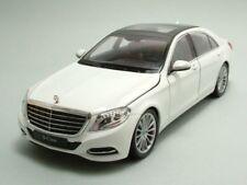 MERCEDES CLASSE S (W222) 2013 blanc, modèle de voiture 1:24 / WELLY