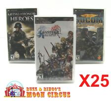 25x SONY PSP GAME CLEAR PROTECTIVE BOX PROTECTOR SLEEVE CASE - FREE SHIPPING!