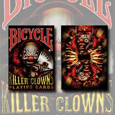 Mazzo di carte Bicycle - Killer Clowns - Mazzi di carte da gioco