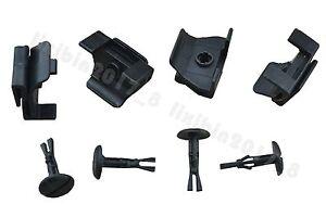 4 Front Fender & Bumper Cover Clip Kit 53879-58010 47749-58010 For Toyota Lexus
