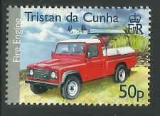 TRISTAN DA CUNHA 2007 ISLAND FIRE ENGINE 1 Value MNH