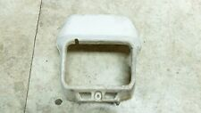 84 Yamaha XT600 XT 600 front headlight head light housing