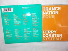 MINISTRY OF SOUND - TRANCE NATION FOUR - 2 X CDS - FERRY CORSTEN / SYSTEM F