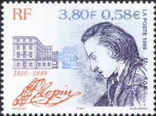 France 1999 Frederic Chopin/Composers/People/Music/Musicians/Buildings 1v n46043