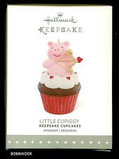 HALLMARK 2016 LITTLE CUPIGGY ORNAMENT  #7 IN KEEPSAKE CUPCAKES SERIES NIB