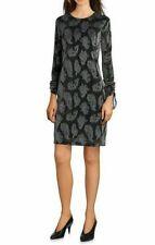 MICHAEL Michael Kors Paisley Drawstring Sleeve Dress  Size XXS
