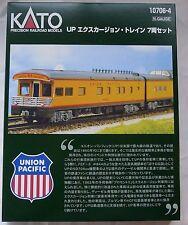 Kato N Scale 10706-4 Union Pacific Railroad UP Excursion Train 7 Cars 10-706-4