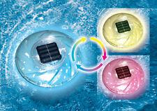 Swimline Floating Solar Color Changing Light