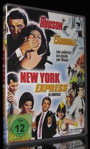 DVD NEW YORK EXPRESS - BLINDFOLD - ROCK HUDSON + CLAUDIA CARDINALE - Komödie NEU