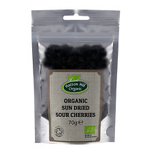 Organic Sun Dried Tart Sour Cherries 70g Certified Organic