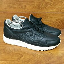 9d540a386b84f ASICS GEL-LYTE V (Men's Size 11) Leather Athletic Sneaker Shoes Black White