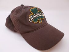Guinness Beer Brown Hat Embroidered Adjustable Baseball Cap Slouch