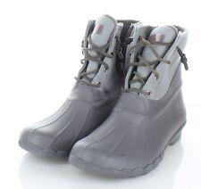 A6 NEW $120 Women's Sz 9 M Sperry Syren Gulf Waterproof Lace Up Duck Boot