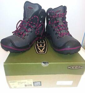 Keen Liberty Ridge Leather Waterproof Hiking Boots / Shoes Womens 8.5 ( 8 )  NEW