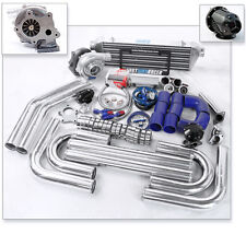 Universal T3/T4 T04E Hybrid Turbo Kit Turbo Charger 38MM Wastegate 2.5″
