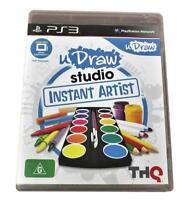 U Draw Studio Instant Artist Sony PS3