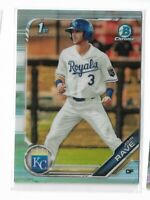 2019 Bowman chrome draft sky blue refractor parallel John Rave BDC-144