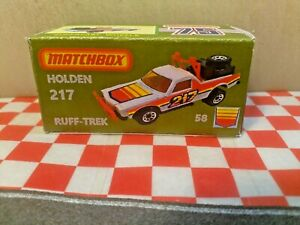 Matchbox Superfast 58,Holden 271 Ruff Trek UTE CUSTOM EMPTY Repro Box (NO CAR)