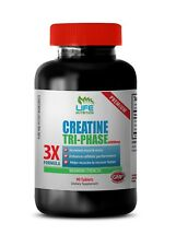 Manpower Action - Creatine Tri-Phase 3X 5000mg - Muscle Ultimate Supplements 1B