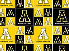 APPALACHIAN STATE UNIVERSITY COTTON FABRIC- APPALACHIAN STATE FABRIC-appst020
