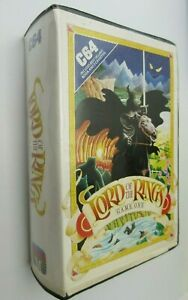 Commodore 64 -  LORD OF THE RINGS - GAME ONE