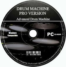 Drum Machine Advanced Studio Beat & Musik Sound Creator Editor Mixer Sampler CD