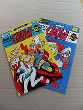 Bullet Crow  1 & 2 . (complet) Chuck Fiala - Eclipse 1987 . VF