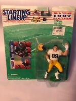 1997 Kenner Starting Lineup Mark Chmura Green Bay Packers Error Tony Martin Card