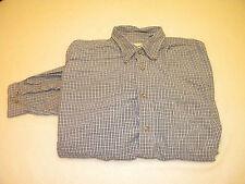 Eddie Bauer Mens long sleeve button up shirt Size L