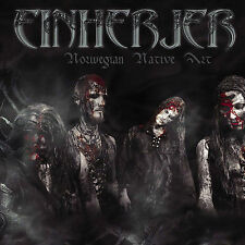 DAMAGED ARTWORK CD Einherjer: Norwegian Native Art Original recording remastered