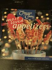 Companys Coming Most Loved Appetizers by Jean Pare Hardcover 2003 Recipes Cook