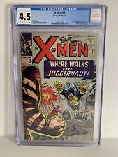 X-men 13 CGC 4.5 1965 2nd Juggernaut App, Human Torch, Matt Murdock Cameo