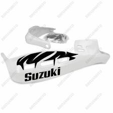 PROTÈGE-MAINS PERFORMANCE STICKERS GUIDON MOTO BLANC SUZUKI BLACK RACING