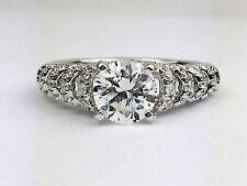 Scott Kay Luminaire 14K White Gold Round Diamond Engagement Ring Mounting