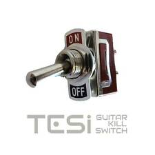 Tesi OTTO 12mm Stainless Steel Guitar Toggle Kill Switch Automatic Return