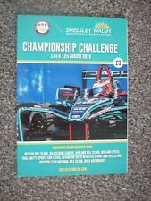 SHELSLEY WALSH PROGRAMME,11th/12th AUGUST 2018
