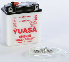 YUASA BATTERY 6N6-3B YUAM2660B Fits: Honda MT125,XL100,XL175,XL350,XL250,MT250,S