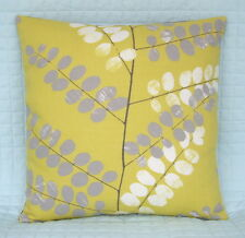 "Cushion Cover/18""x18""/John Lewis MALIN Fabric,Citrine"