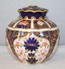 Royal Crown Derby - Imari 1128 - Lidded Pot Pourri - 1914 - vgc