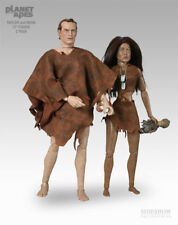 Sideshow 1/6 Planet of the Apes Taylor and Nova 1/6 Figures MIB POTA zaius ursus