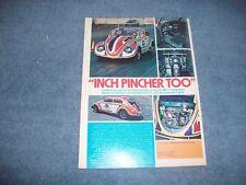 "Darrell Vittone's 1959 Volkswagen Bug Vintage Article ""Inch Pincher Too"""