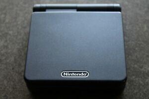 Nintendo GameBoy Advance SP AGS-101 Graphite Black #0186
