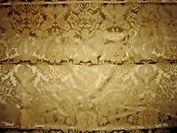 tissu ameublement damas vieil or décor 18e Tassinari Lelièvre 90x130